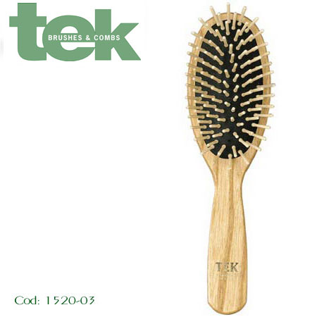 brosse bambou cheveux