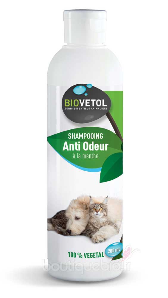 Biovetol shampoing anti odeur pour chien et chat 200 ml for Anti odeur maison
