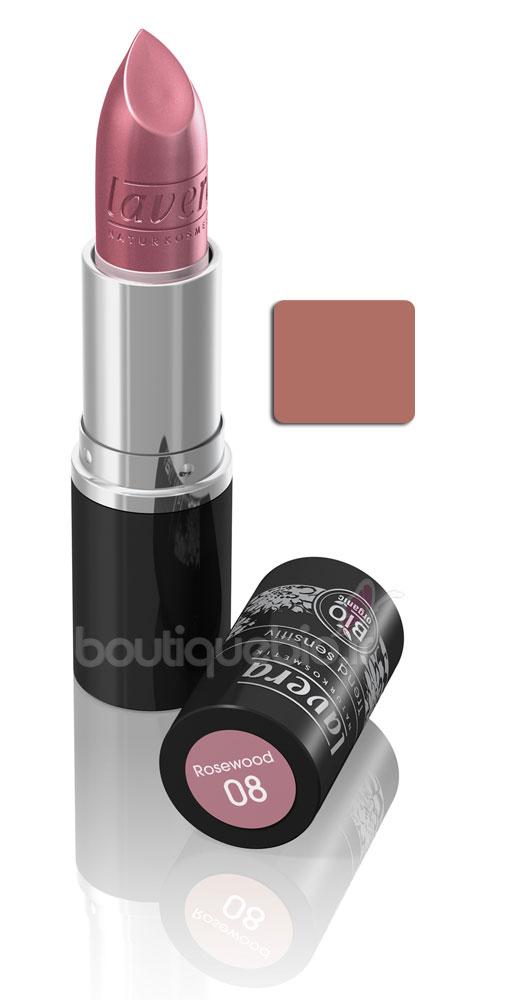 Rouge A Levre Bois De Rose - Lavera Rougeà l u00e8vres 08 Bois de rose 4 5g Boutique bio