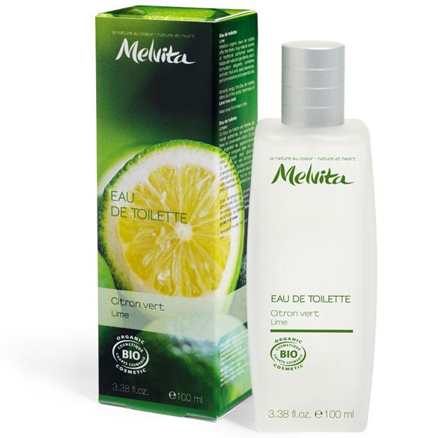 melvita eau de toilette bio parfum citron vert 100 ml boutique bio