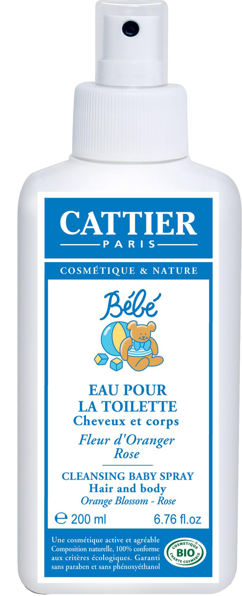 cattier eau de toilette b 233 b 233 parfume et rafra 238 chit 200 ml boutique bio