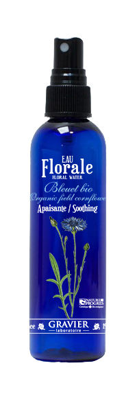 gravier eau florale de bleuet bio 200 ml boutique bio. Black Bedroom Furniture Sets. Home Design Ideas