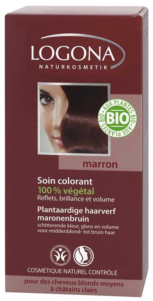 Coloration 100 bio pour cheveux blancs