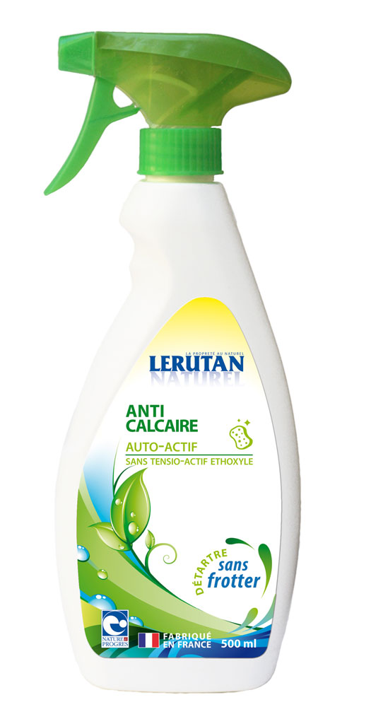 Gravier lerutan anti calcaire spray 500ml boutique bio for Produit anti calcaire
