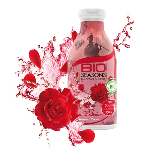 Gel douche Rose Passion 300 ml