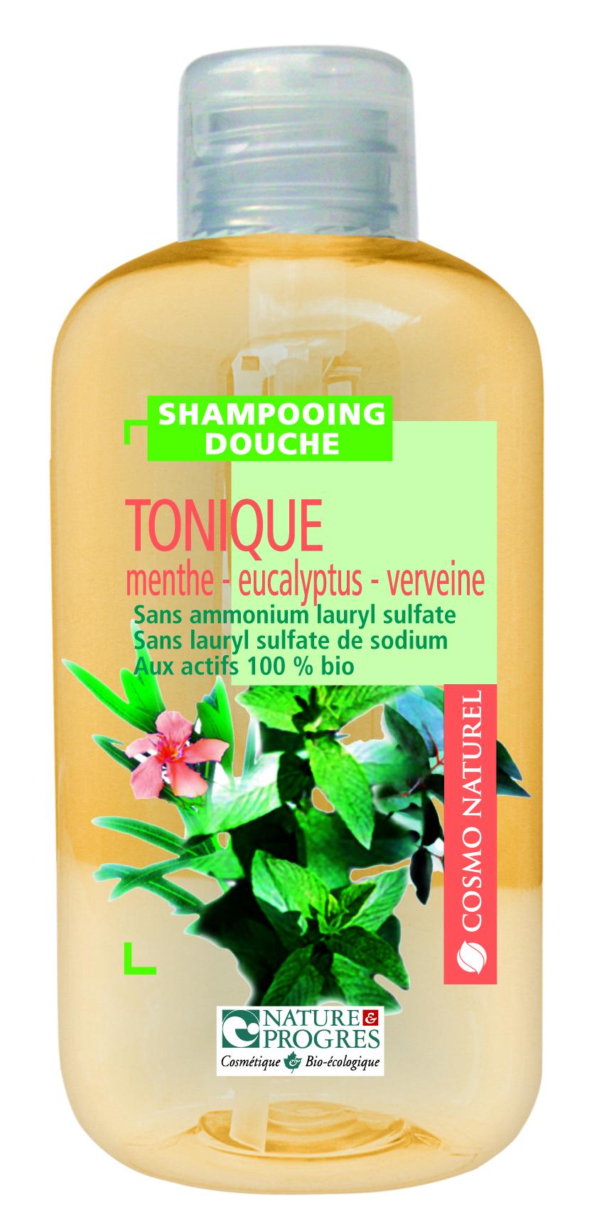 Gravier mignonnette cosmo naturel shampoing douche tonique menthe eucalyptus verveine 50 ml - Demangeaisons jambes apres douche ...