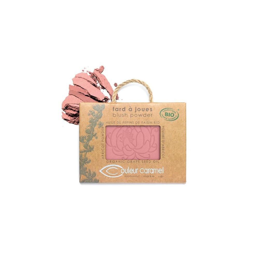 couleur caramel fard joues nacr rose lumi re 53 boutique bio. Black Bedroom Furniture Sets. Home Design Ideas