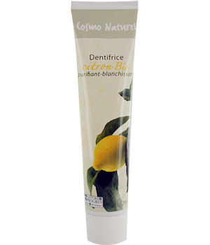 Dentifrice Citron blanchissant 75ml