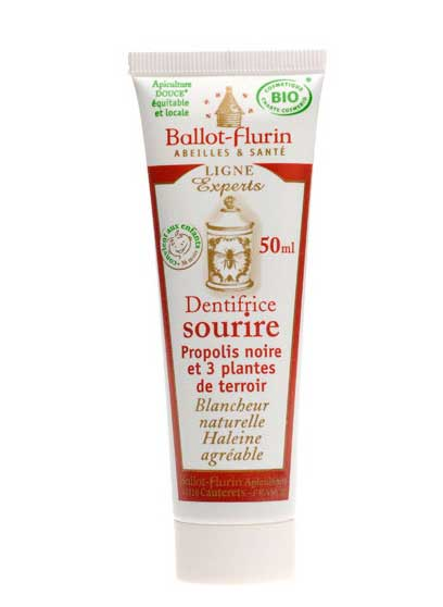 ballot flurin dentifrice sourire blancheur naturelle 50ml boutique bio. Black Bedroom Furniture Sets. Home Design Ideas
