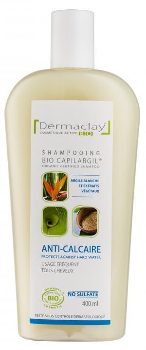 Eumadis shampooing bio capilargil blanc anti calcaire for Produit anti calcaire