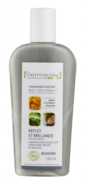 eumadis shampooing bio capilargil reflet brillance cheveux blancs 250 ml boutique bio. Black Bedroom Furniture Sets. Home Design Ideas