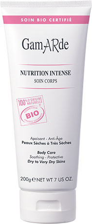 gamarde nutrition intense soin corps apaisant peaux s ches 200g boutique bio. Black Bedroom Furniture Sets. Home Design Ideas