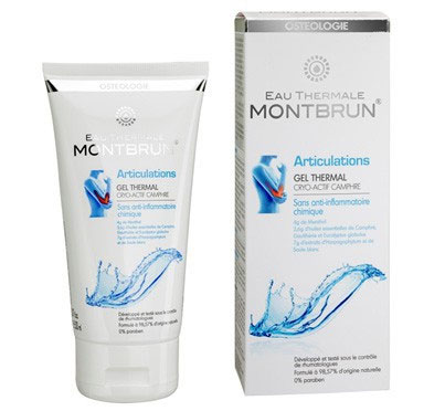 Gel thermal cryo actif camphré 150 ml