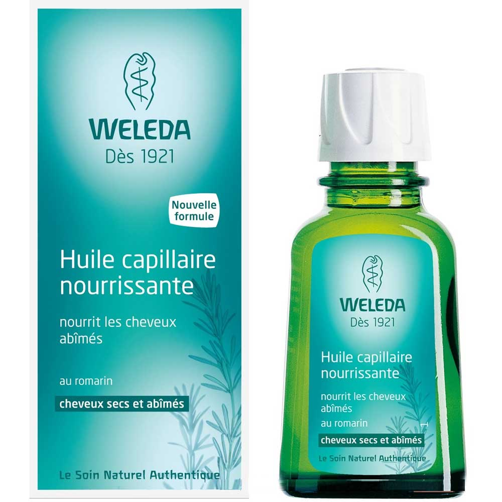 weleda huile capillaire nourissante cheveux secs abim s 50 ml boutique bio. Black Bedroom Furniture Sets. Home Design Ideas