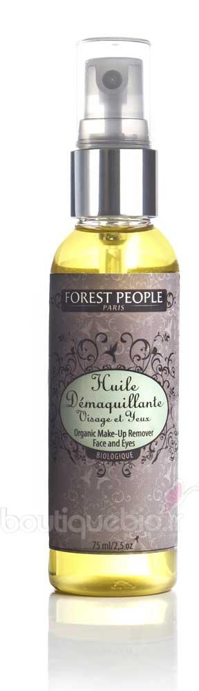 forest people huile d maquillante bio visage et yeux 75ml boutique bio. Black Bedroom Furniture Sets. Home Design Ideas