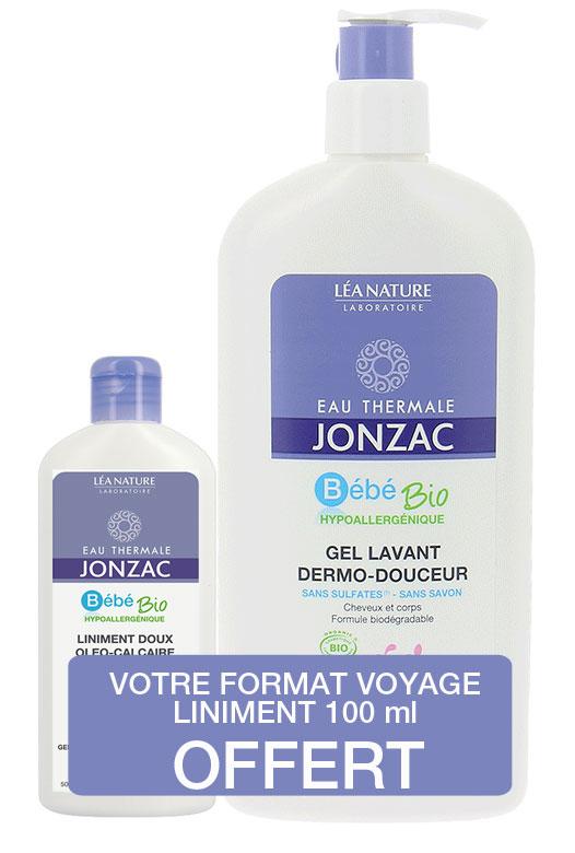 df050c64ff1 Jonzac - Bébé gel lavant dermo-douceur 500 ml - Boutique bio
