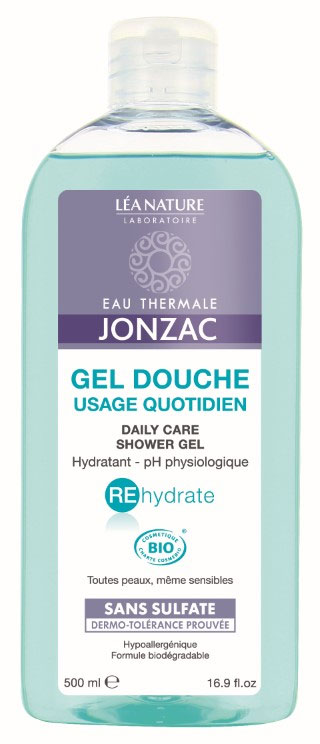 jonzac rehydrate gel douche hydratant 500 ml boutique bio. Black Bedroom Furniture Sets. Home Design Ideas