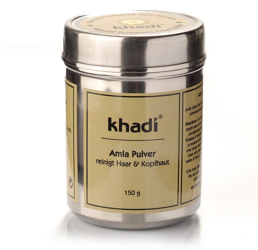 khadi shampoing soin poudre d 39 amla ayurv diques 150 g. Black Bedroom Furniture Sets. Home Design Ideas