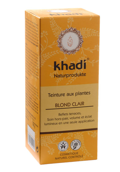 coloration khadi blond clair