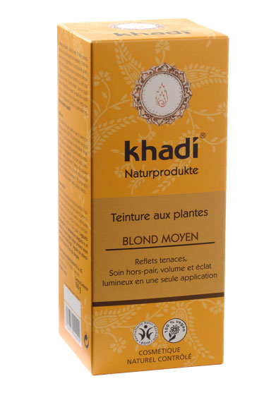 coloration khadi blond moyen