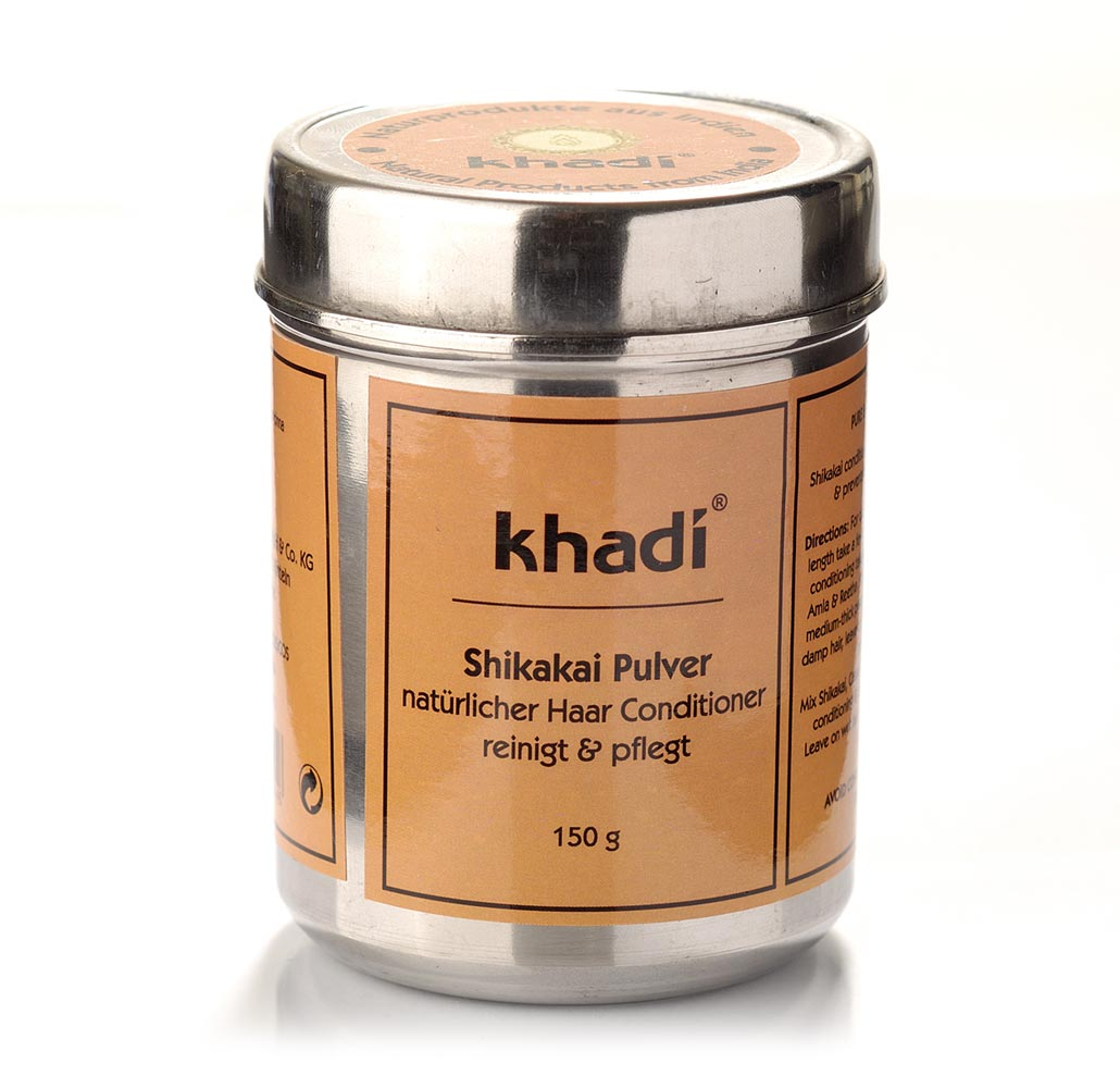 khadi shampoing soin poudre de shikakai ayurv diques 150 g boutique bio. Black Bedroom Furniture Sets. Home Design Ideas