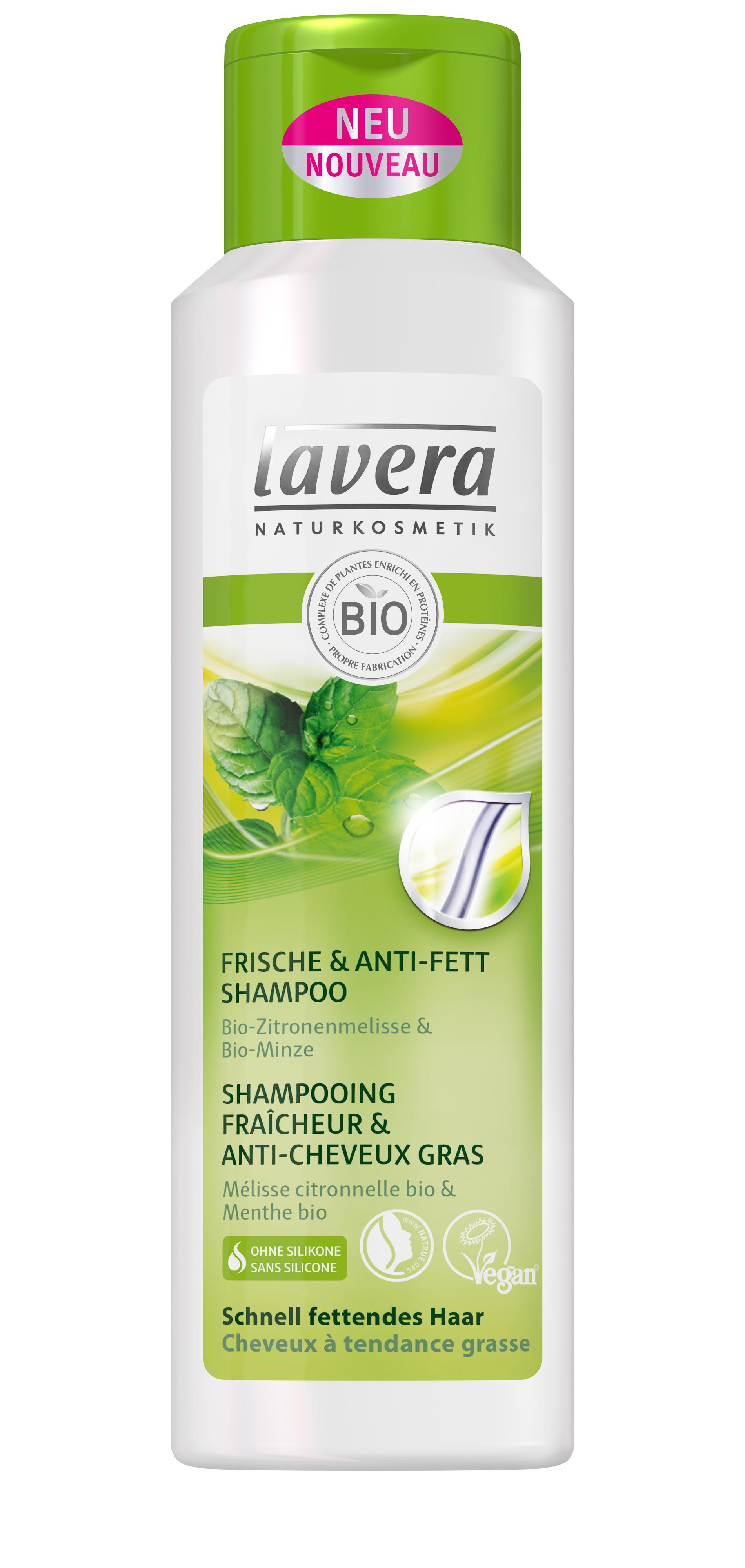lavera shampoing hair fra cheur et anti cheveux gras 250ml boutique bio. Black Bedroom Furniture Sets. Home Design Ideas