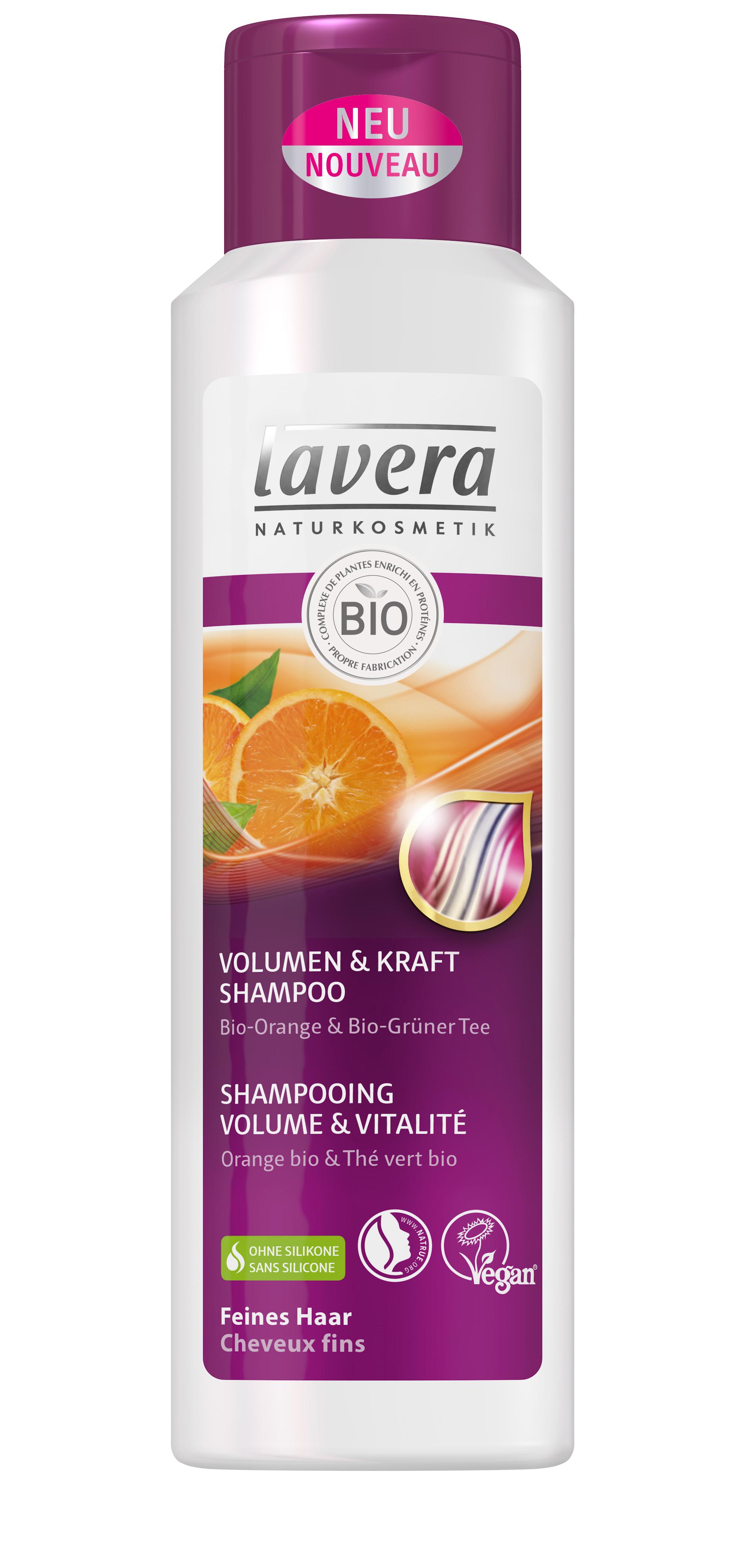 lavera shampoing hair volume et vitalit pour cheveux fins 250ml boutique bio. Black Bedroom Furniture Sets. Home Design Ideas