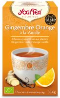 Infusion ayurvédique Gingembre Orange à la Vanille