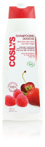 Shampooing douche aux fruits rouges 750 ml