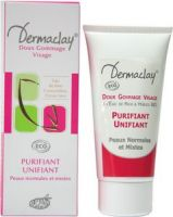 Gommage Visage Unifiant & Purifiant Dermaclay - Tube 75 ml