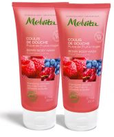 Duo Coulis de douche Pulpe de fruits rouges 2x200 ml