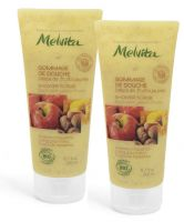 Duo gommage de douche délice de fruits jaunes 2x200 ml