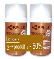 Lot de 2 deodorant soin anti-repouse