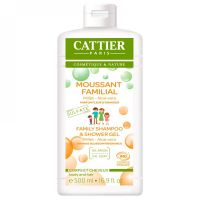 Cattier Moussant Familial Millet Aloe Vera 500 ml