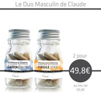Duo masculin : Virgile et Gaston