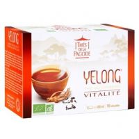 Yelong Thé Bio au Ginseng - 90 infusettes
