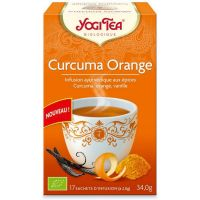 Infusion ayurvédique Curcuma Orange