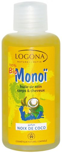 logona mono bio noix de coco huile de soin corps cheveux 100 ml boutique bio. Black Bedroom Furniture Sets. Home Design Ideas