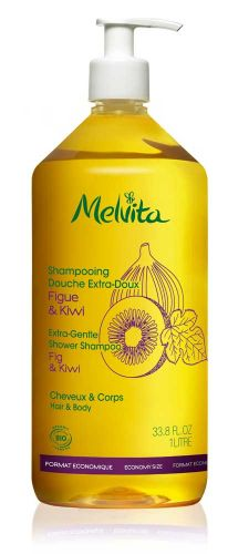 Shampooing douche extra doux Figue Kiwi 1L