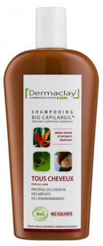 Shampooing Capilargil Rouge Antipollution Tous Cheveux 400 ml