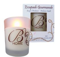 Bougie d'ambiance escapade Gourmande  120g
