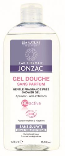 REactive gel douche sans parfum 500 ml