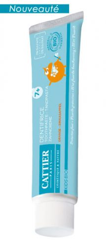Dentifrice 7 ans et plus goût orange 50 ml