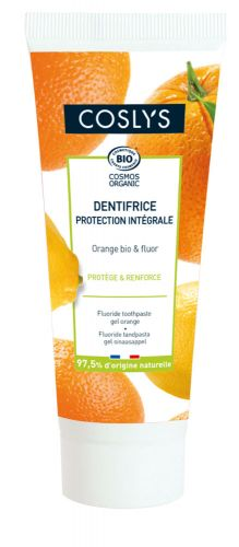 Gel dentifrice au fluor et orange 75 ml