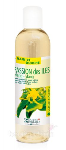Gel Moussant Passion des Iles au Ylang Ylang Cosmo Naturel 250ml