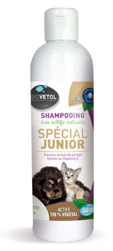Shampoing Junior pour chiots et chatons 240 ml
