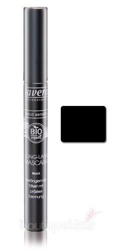lavera mascara cil long effet prolong noir 9 ml boutique bio. Black Bedroom Furniture Sets. Home Design Ideas