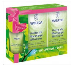 Duo HUILE DE MASSAGE MINCEUR R�duction de Cellulite 2x100 ml