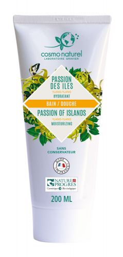 Gel Moussant Passion des Iles au Ylang Ylang Cosmo Naturel 200 ml