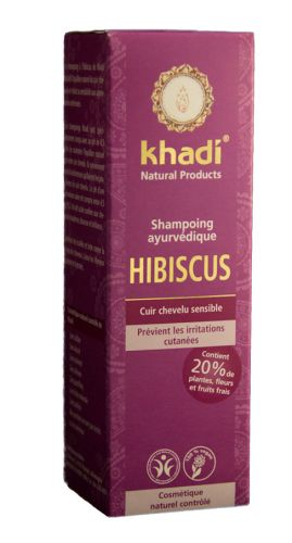 Shampooing ayurvédique HIBISCUS 210 ml